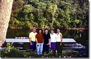 Ozark Trout Resort Family Photo