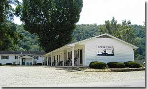 Ozark Trout Resort Exterior View