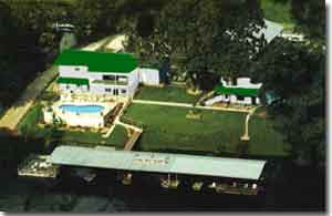 Ozark Trout Resort Aerial View